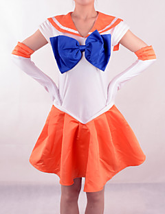 Cosplay Puvut - Sailor Venus - Sailor Moon - Puku- / Käsineet / Jousi -