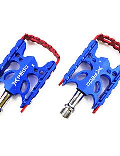 אופניים פדלים רכיבת פנאי / רכיבה על אופניים / אופני הרים / אופני כביש / BMX / אופניים הילוך קבוע מתכוונן כחול סגסוגת אלומיניום1 x pair