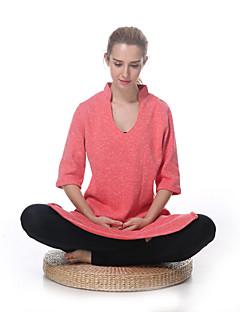 Yokaland ® Ioga tops Mantenha Quente / Forro de Velocino / Macio Stretchy Wear Sports Ioga / Pilates / Fitness Mulheres