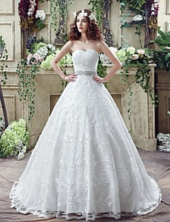 Wedding Dress - Ivory Court Train Sweetheart