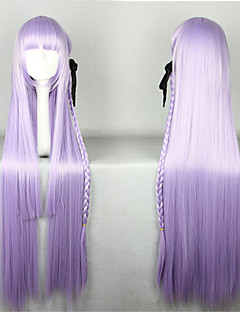 Lolita Wigs Sweet Lolita Lolita Extra Long Light Purple Lolita Wig 100 CM Cosplay Wigs Solid Wig For Women