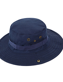 Sun Hat Hat Breathable / Lightweight Materials Unisex Cotton / Terylene Camping / Hiking / Fishing Spring / Summer / Fall/Autumn