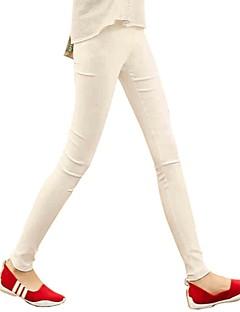 vrouwen magere suiker kleuren bevat de elastische band broek