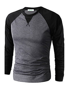 Men cultivating long-sleeved T-shirt sports and leisure fashion raglan sleeve bottoming shirt T-shirt  MAITS17