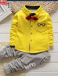Boy's Cotton Clothing Set , Spring / Fall Long Sleeve