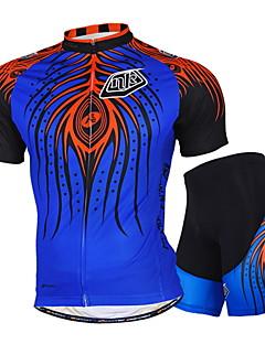 NUCKILY Moto/Ciclismo Camisa / Shorts / Camisa + Calças / Blusas / Conjuntos de Roupas/Ternos Unissexo Manga CurtaImpermeável /