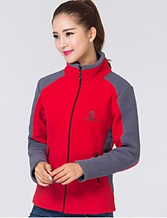 Women Outdoor Sports Collar Fleece Jacket Thickening Jacket Keep Warm  Breathable UV Resistancet Jacke Clothing