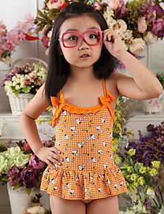 Maillot de Bain Fille de Eté Polyester / Nylon Orange