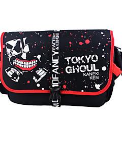 bolsa Inspirado por Tokyo Ghoul Cosplay Animé Accesorios de Cosplay bolsa Negro Nailon Hombre / Mujer