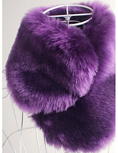 Wedding / Party/Evening / Office & Career / Casual Faux Fur Scarves Sleeveless Shawls / Fur Accessories / Faux Leather