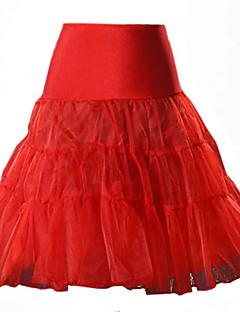 מיני-דק-סגנון-חצאית(כותנה / ניילון / אחרים)