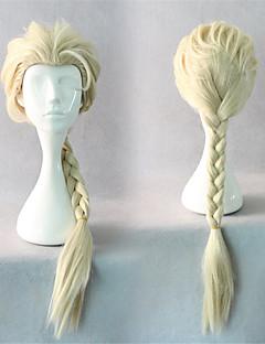 달콤한 로리타 60cm 긴 베이지 색 로리타의 가발