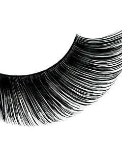 1 Wimpern Augenwimpern Vollbandwimpern Augenwimpern Dick / Das Ende ist länger Verlängert / Gehobene Wimpern / Voluminisierung Handgemacht