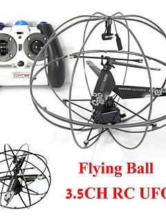 Remote Control UFO 3CH RC Helicopter Flying Ball Saucer Aircraft Drone Copter Helicoptero Educational Children Toy