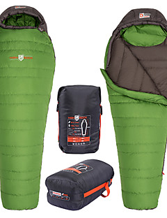 HIGHROCK 0~-5C Spring/Autumn/Winter Adult Outdoor Camping Hiking Mummy Duck Down Sleeping Bag Size