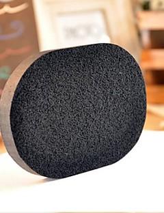 Ватные диски для снятия макияжа Натуральные губки 4 Круглая 12*9*8 Нормальная Серый