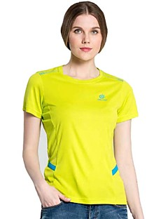 Outdoor Cilmbing Camping Hiking Polyester Quick Drying Short Sleeve Women T Shirt Sportswear