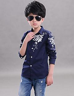 Boy's Cotton Shirt,Spring / Fall Print