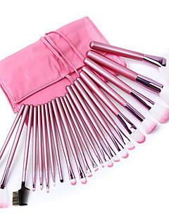 makeup børster 22 stk overlegne profesjonelle myke kosmetikk utgjør pensel sett kvinnens pincel kabuki kit makeup børster