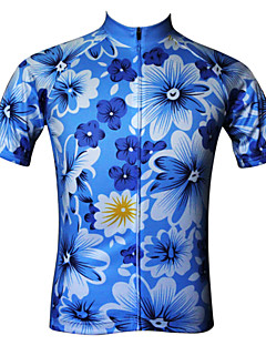 JESOCYCLING® חולצת ג'רסי לרכיבה לנשים שרוול קצר אופנייםנושם / ייבוש מהיר / עמיד אולטרה סגול / נגד חשמל סטטי / בד קל מאוד / תומך זיעה /