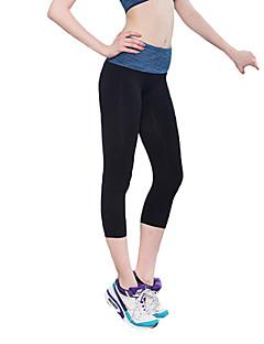 Pantaloni Da donna Sportivi Attivo Poliestere / Elastene Elasticizzato