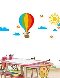 stickers muraux stickers muraux, singe le style ballon pvc stickers muraux