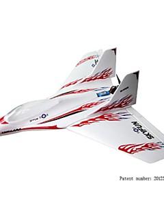 Skyartec rc vliegtuig skyfun borstelloze ARF kit (inclusief servo) (ap04-5)