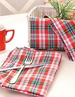 100% Cotton  NapkinHotel Dining Table / Wedding Party Decoration / Wedding Banquet Dinner / Christmas Decor Favor /