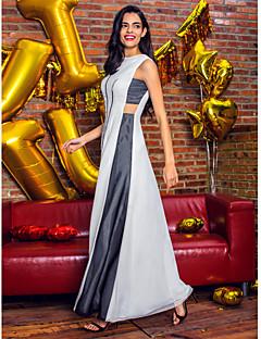 ts Couture® soirée formelle robe d'une ligne-mousseline bijou cheville avec