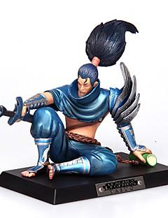 League of Legends Yasuo PVC The Unforgiven12CM Anime Action Figures Doll Toys Model