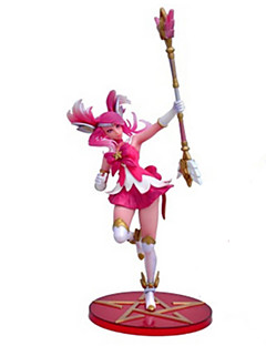 LOL League of Legends Lux Bright Girl Magic Girl Skin Garage Kit Anime Action Figures Model Toy