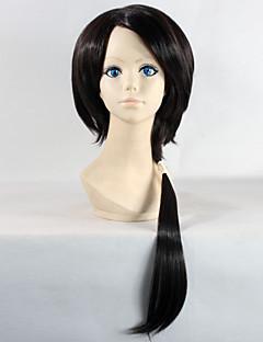 Touken Ranbu Men's Kashuu Kiyomitsu Long Straight Black Color Game Anime Cosplay Full Wig