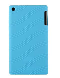"""caucho de silicona caso de la piel de gel para la lengüeta 2 lenovo a7-30 7 """"tableta (colores surtidos)"""