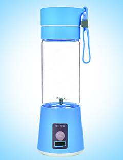 380ml elektromos hordozható USB újratölthető turmix gyümölcslé mixer shaker üveg