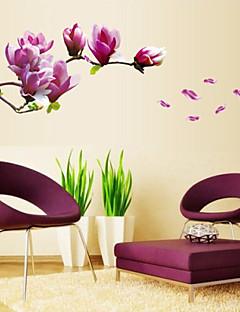 Florales Pegatinas de pared Calcomanías de Aviones para Pared,PVC 50X70X0.1