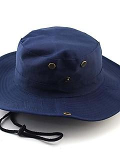 כובע שמש כובע חדירות גבוהה לאוויר (מעל 15,000 גרם) / חומרים קלים / רך יוניסקס בייז' / הסוואה / ירוק צבאי / חאקי בהיר 100% פוליאסטרספורט