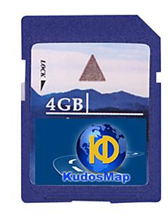 Lob gps Karte Karte, mit 4 GB Standard-SD-Karte