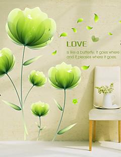 보태니컬 / 로맨스 / 플로럴 벽 스티커 플레인 월스티커,PVC 60*90(23.6*35.4 inch)