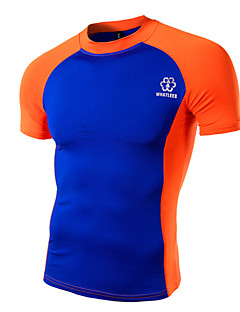 サイクリングジャージー 男性用 半袖 バイク Tシャツ トレーナー トップス スポーツ 夏 サイクリング レジャースポーツ グリーン ホワイト オレンジ
