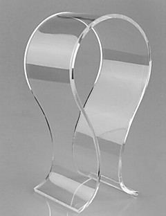 Popular Acrylic Material Stand for Headphone Tranparent