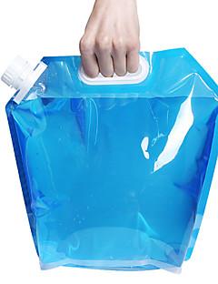5l kültéri összecsukható összecsukható ivóvíz táska autó víztartály kültéri kemping gyalogos piknik grillezés