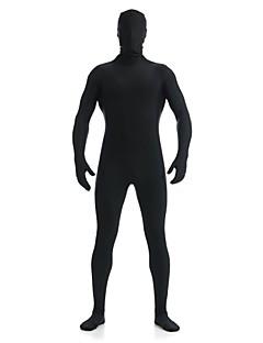 Unisex Zentai Suits Lycra / Spandex Black Zentai