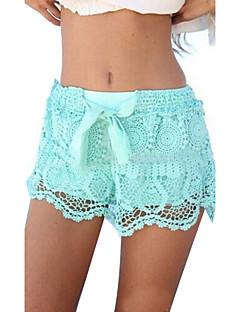 Sexig Shorts Byxor Kvinnors Microelastisk Elastan