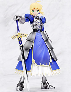 Fate/Zero Saber 14CM Anime Action Figures Model Toys Doll Toy