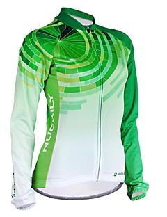 NUCKILY® Cyklo bunda Dámské Dlouhé rukávy Jezdit na koleVoděodolný / Prodyšné / Zahřívací / Větruvzdorné / Anatomický design / Zateplená