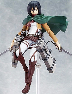 Sword Art Online Mikasa Ackermann 15CM Anime Actionfigurer Modell Leksaker doll Toy
