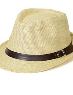 2016 Short Eaves Linen Belt Buckle British Jazz Hat