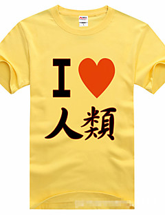 Inspired by No Game No Life Cosplay Anime Cosplay Costumes Cosplay T-shirt Print Black Short Sleeve T-shirt