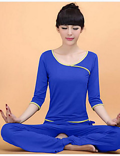 Yoga Clothing Sets/Suits Pants+Tops Breathable / smooth / Wicking High Elasticity Sports Wear Women's-OthersYoga
