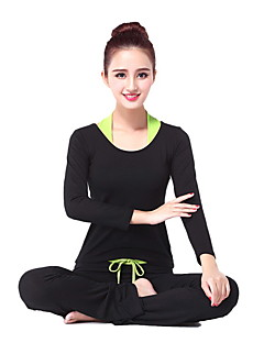 Yoga Clothing Sets/Suits Pants+Tops Breathable / smooth / Wicking High Elasticity Sports Wear Women's / Fitness